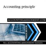Accounting principle