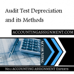 Audit Test Depreciation and its Methods