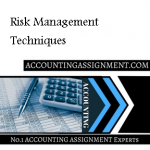 Risk Management Techniques