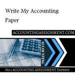 Write My Accounting Paper
